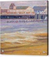 Ptown Fisherman's Wharf Acrylic Print