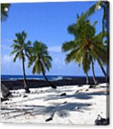 Pu Uhonua O Honaunau Acrylic Print