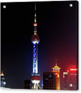 Pudong New District Shanghai - Bigger Higher Faster Acrylic Print