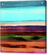 Pueblo 2- Art By Linda Woods Acrylic Print