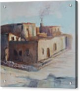 Pueblo After The Rain Acrylic Print