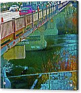 Pueblo Downtown--4th Street Bridge Acrylic Print