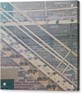 Pueblo Downtown Fire Escape Acrylic Print