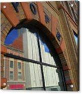 Pueblo Downtown Reflection 3 Acrylic Print