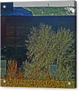 Pueblo Downtown-sweeny Feed Mill 6 Acrylic Print by Lenore Senior