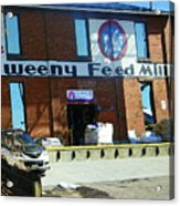 Pueblo Downtown--sweeny Feed Mill Acrylic Print