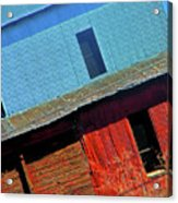 Pueblo Downtown--sweenys Feed Mill Acrylic Print