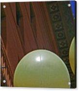 Pueblo Downtown--thatcher Building With Lamps 2 Acrylic Print