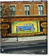 Pueblo Downtown--used Cars Acrylic Print
