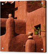 Pueblo Revival Style Architecture II Acrylic Print