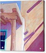 Pueblo Shadows Acrylic Print