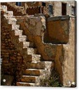 Pueblo Stairway Acrylic Print