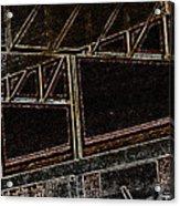 Pueblo-steel City--manufacturing Blueprint Acrylic Print