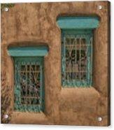Pueblo Windows Nm Square Img_8336 Acrylic Print