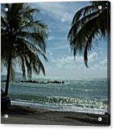 Puerto Rican Beach Acrylic Print