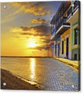 Puerto Rico Montage 1 Acrylic Print by Stephen Anderson