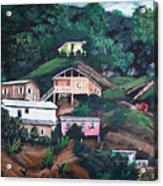 Puerto Rico Mountain View Acrylic Print