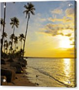 Puerto Rico Sunset Acrylic Print