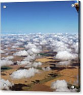 Puffy Clouds  3772 Acrylic Print