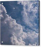 Puffy Clouds Acrylic Print