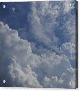 Puffy Clouds II Acrylic Print