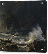 Puget  Sound  On  The  Pacific  Coast, Acrylic Print