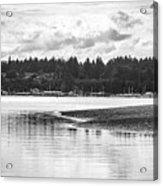Puget Sound Reflections Acrylic Print