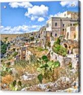 Puglia Canvas Church Hermitage Pulsano - Monte Sant Angelo - Foggia - Gargano Acrylic Print