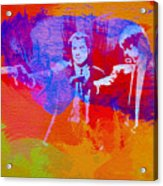 Pulp Fiction 2 Acrylic Print by Naxart Studio