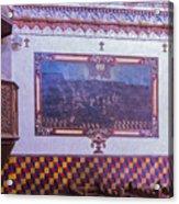 Pulpit San Xavier Mission - Tucson Arizona Acrylic Print