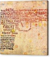 Pulpography Acrylic Print