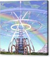 Pulsar Beacon Acrylic Print