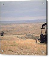 Pump Jacks Pump Oil In Rural Perryton Acrylic Print