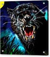Pumpernickel Puma Acrylic Print