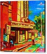 Pumperniks And The Snowdon Theatre Acrylic Print