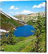 Pumphouse Lake I Acrylic Print