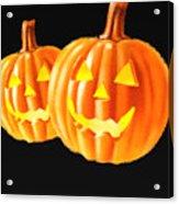 Pumpkin Double  Acrylic Print