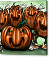 Pumpkin Party Acrylic Print