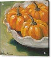 Pumpkin Pie Acrylic Print