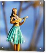 Punaluu, Hula Doll Acrylic Print
