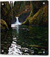 Punchbowl Falls Acrylic Print
