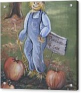 Punkins For Sale Acrylic Print