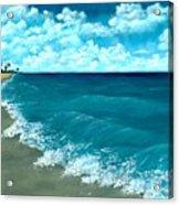 Punta Cana Beach Acrylic Print