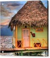 Punta Caracol Acrylic Print by Dolly Sanchez