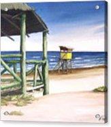 Punta Del Diablo S Morning Acrylic Print