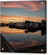 Punta Gorda From Bal Harbor Acrylic Print