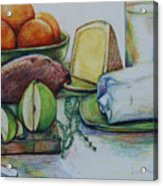 Purchases From The Farmers Market Acrylic Print