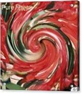 Pure Flower Acrylic Print