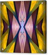 Pure Gold Lincoln Park Wood Pavilion N89 V1 Acrylic Print