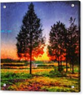 Pure Nature Acrylic Print
